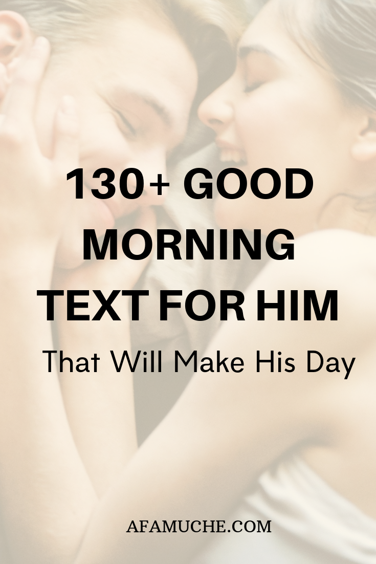 Good Morning Messages To My Love - Afam Uche